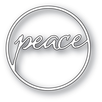 Memory Box PEACE CIRCLE Craft Die 94027