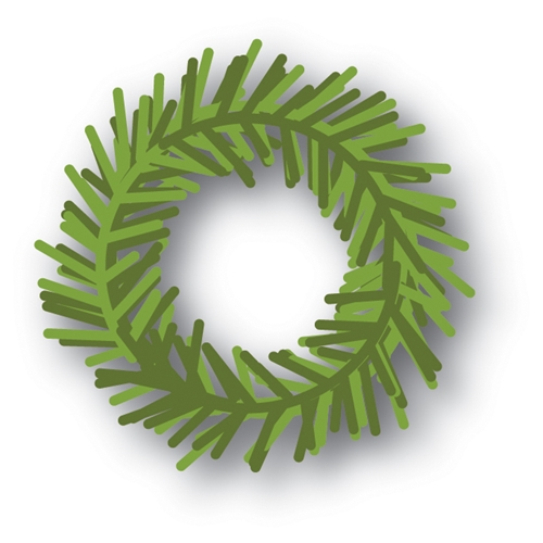 Memory Box PINE WREATH Craft Die 94029 Preview Image