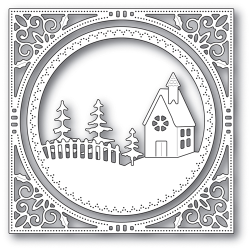 Memory Box COUNTRY CHURCH FRAME Craft Die 94038 Preview Image