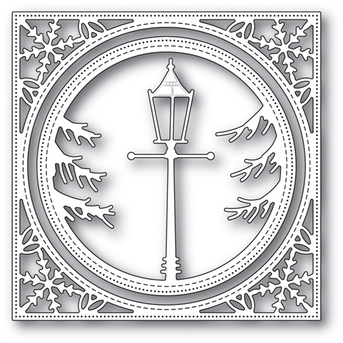 Memory Box HOLIDAY LAMP POST FRAME Craft Die 94049 Preview Image