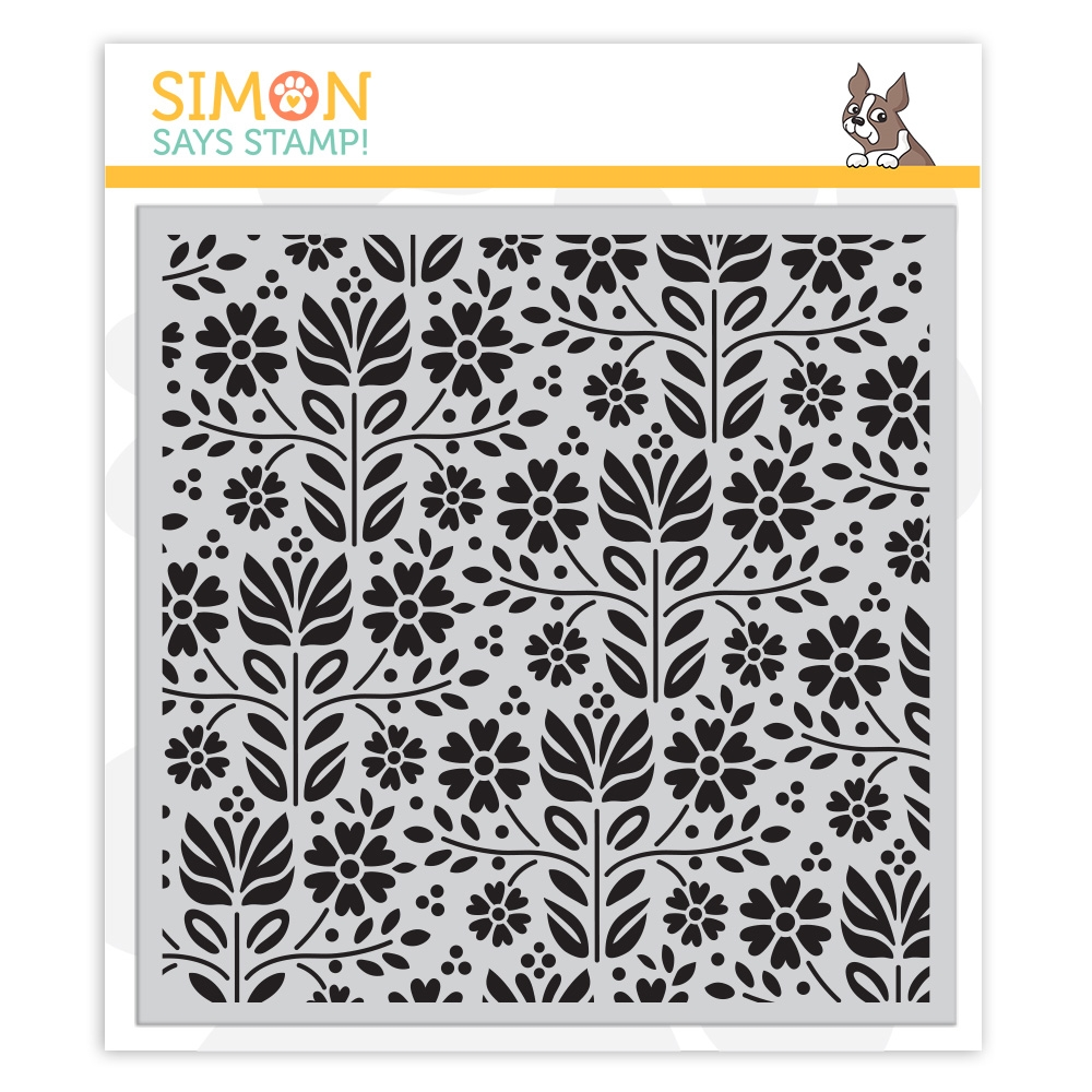 Simon Says Cling Rubber Stamp FOLK DANCE sss101871 Friendly Frolic zoom image