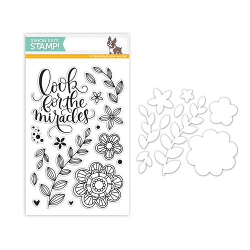 Simon Says Stamps And Dies LOOK FOR THE MIRACLES set329lfm Friendly Frolic * Preview Image