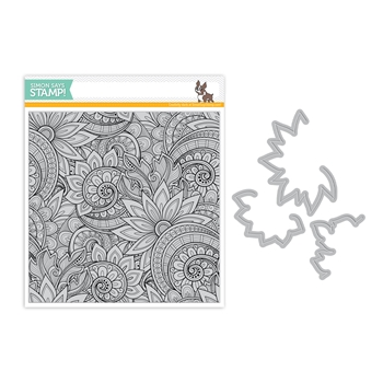 Simon Says Stamps And Dies ORNATE BACKGROUND set331ob Friendly Frolic