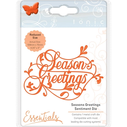 Tonic SEASONS GREETINGS Essentials Die Set 2163e* Preview Image