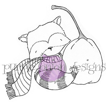 Purple Onion Designs GINGER Cling Stamp pod1027