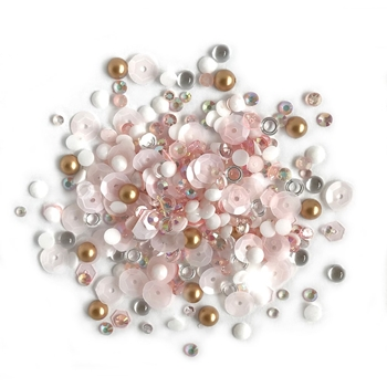 Buttons Galore and More Sparkletz CORAL COAST Embellishments SPK100