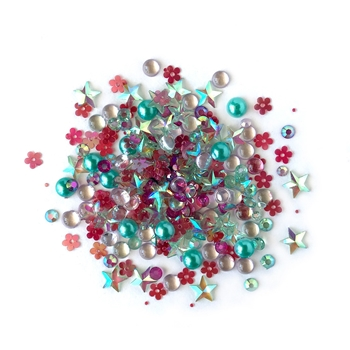 Buttons Galore and More Sparkletz ALOHA Embellishments SPK107