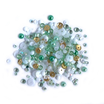 Buttons Galore and More Sparkletz COCONUT PALMS Embellishments SPK111
