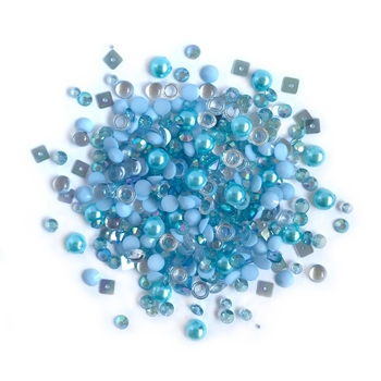 Buttons Galore and More Sparkletz OCEAN WAVES Embellishments SPK103