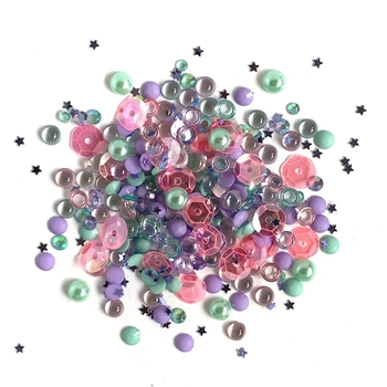 Buttons Galore and More Sparkletz MERMAID Embellishments SPK104
