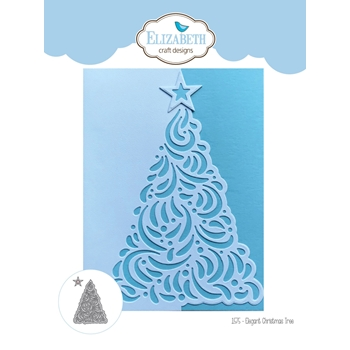 Elizabeth Craft Designs ELEGANT CHRISTMAS TREE Craft Dies 1575