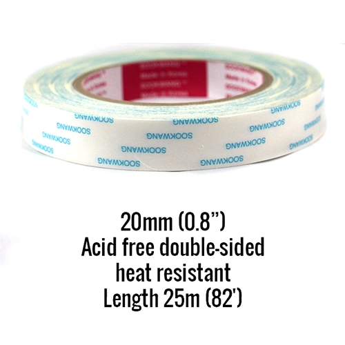 Be Creative Tape 20MM ROLL Double Sided Sookwang bc20 Preview Image