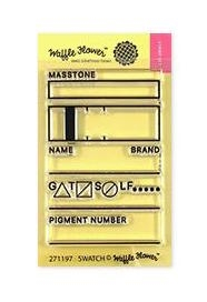 Waffle Flower SWATCH TAG Clear Stamps 271197 zoom image