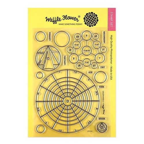 Waffle Flower COLOR WHEELS Stamps 271191 Preview Image
