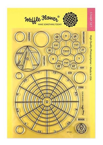 Waffle Flower COLOR WHEELS Stamps 271191 zoom image