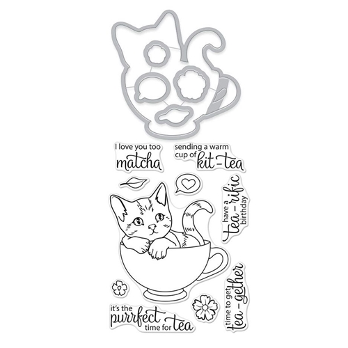 Hero Arts Stamp and Cuts KIT-TEA DC243* Preview Image