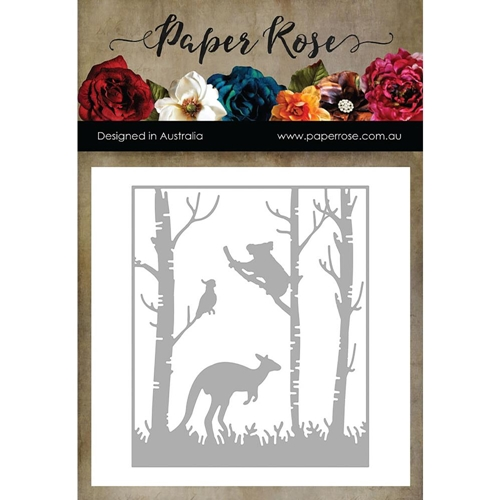 Paper Rose KANGAROO IN FOREST Craft Die 16948 Preview Image