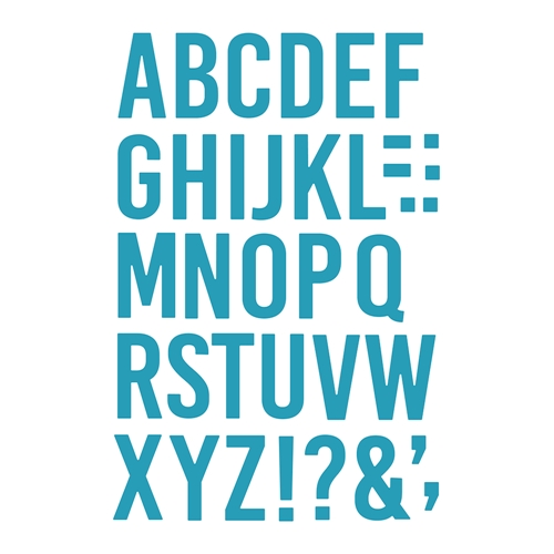 Honey Bee BEE BOLD ALPHABET Dies hbds-bba Preview Image