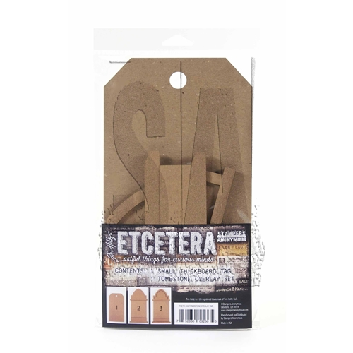 Tim Holtz Etcetera SMALL TOMBSTONE OVERLAY ETC006 Preview Image