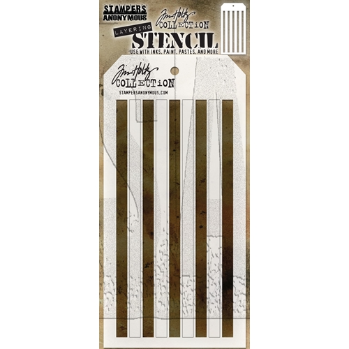 Tim Holtz Layering Stencil SHIFTER STRIPES THS108 Preview Image