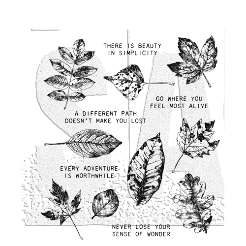 Tim Holtz Cling Rubber Stamps NATURE'S WONDER CMS343 Preview Image
