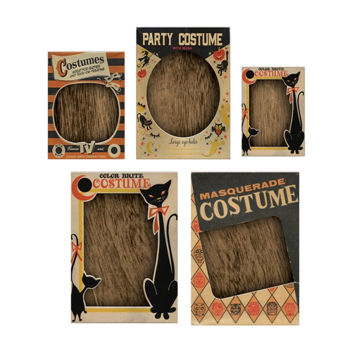 Tim Holtz Idea-ology HALLOWEEN Vignette Box Tops th93729 Preview Image