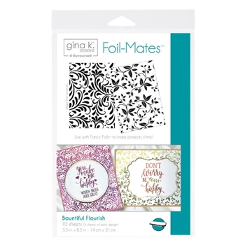 Therm O Web Gina K Designs BOUNTIFUL FLOURISH Foil-Mates 18101