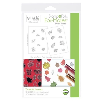 Therm O Web Gina K Designs THANKFUL LEAVES Foil-Mates 18104