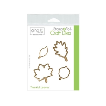 Therm O Web Gina K Designs THANKFUL LEAVES Die Set 18108