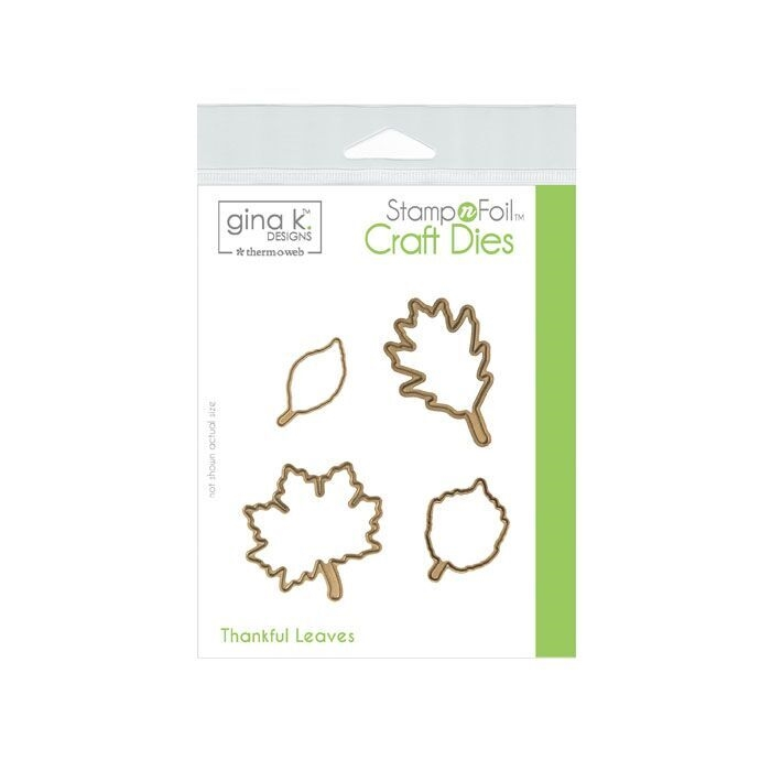 Therm O Web Gina K Designs THANKFUL LEAVES Die Set 18108 zoom image