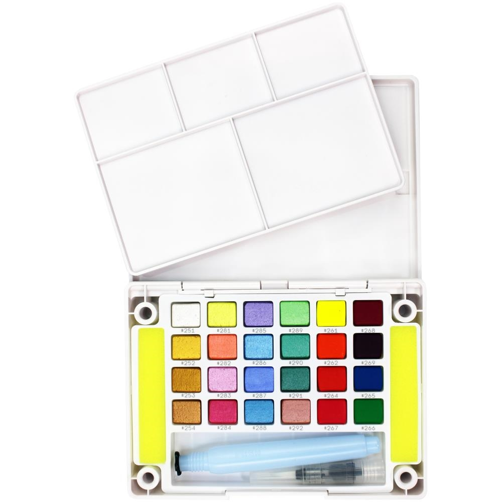 Sakura KOI CREATIVE ART COLORS POCKET FIELD SKETCH BOX 24 ncw24mpn zoom image