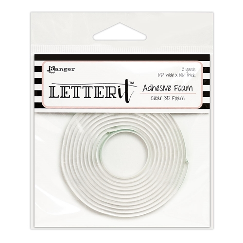 Ranger CLEAR Letter It Adhesive Foam lea63292 Preview Image