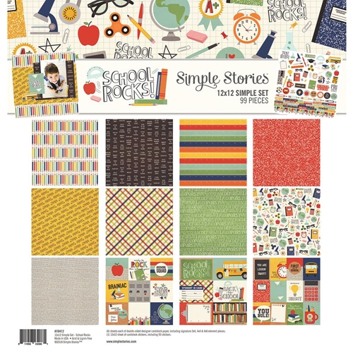 Simple Stories SCHOOL ROCKS 12 x 12 Collection Kit 10412 Preview Image