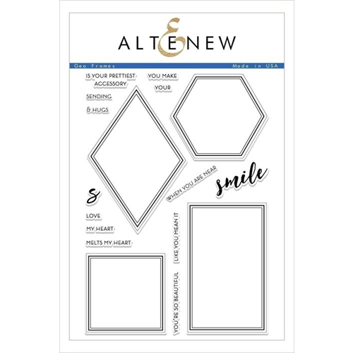 Altenew GEO FRAMES Clear Stamps ALT2476 Preview Image