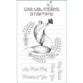 CAS-ual Fridays FOXY Clear Stamps CFS1817
