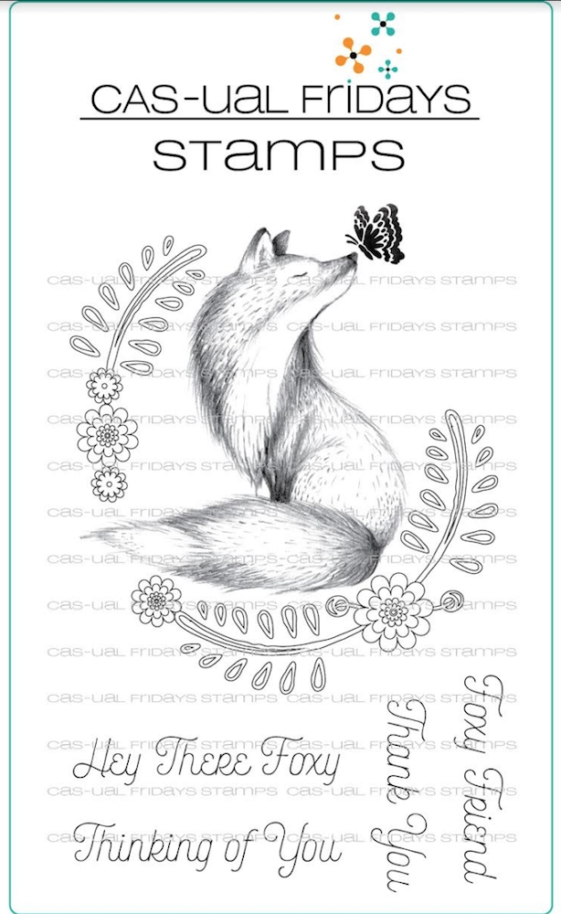 CAS-ual Fridays FOXY Clear Stamps CFS1817 zoom image