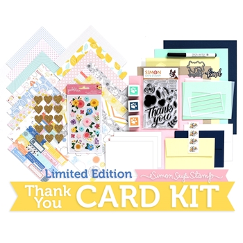 Limited Edition Simon Says Stamp Card Kit THANK YOU SSSTHKU