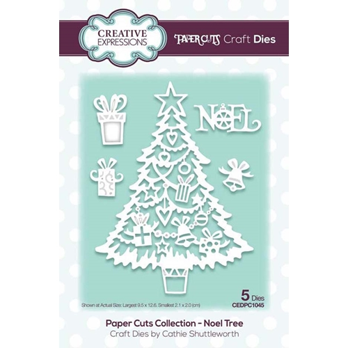 Creative Expressions NOEL TREE Paper Cuts Collection Dies cedpc1045 Preview Image