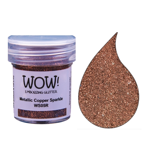 WOW Embossing Glitter METALLIC COPPER SPARKLE Regular WS05R Preview Image