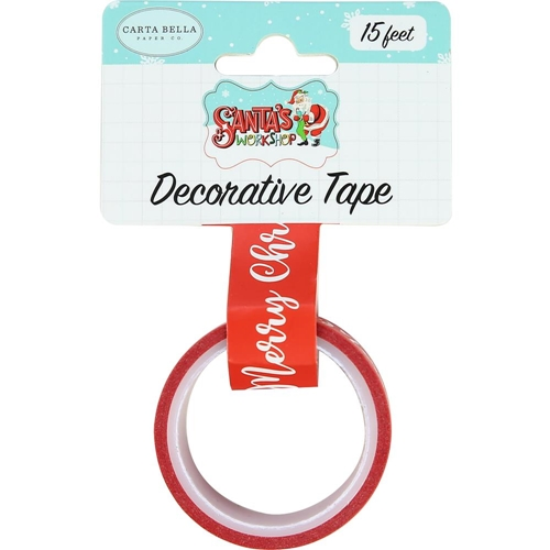 Carta Bella MERRY CHRISTMAS Decorative Tape cbsw90026 Preview Image