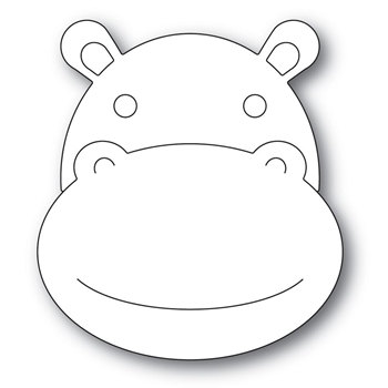 Simon Says Stamp BIG PICTURE BOOK HIPPO Wafer Dies s567