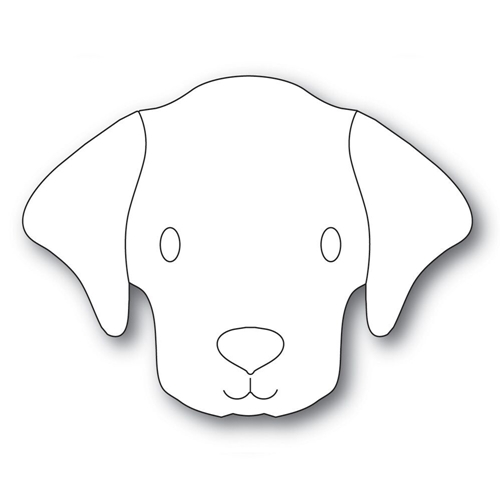 Simon Says Stamp BIG PICTURE BOOK LABRADOR Wafer Dies s570 Preview Image