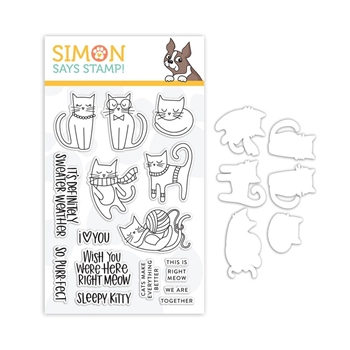 Simon Says Stamps And Dies RIGHT MEOW set335rm *