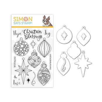 Simon Says Stamps And Dies ORNATE ORNAMENTS set340ro