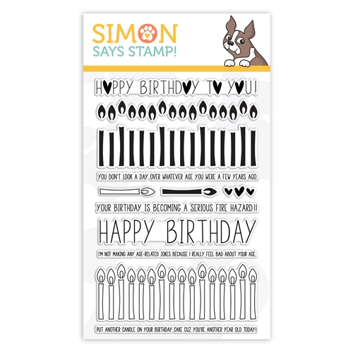 Simon Says Clear Stamps BIRTHDAY BORDERS sss101852 Preview Image