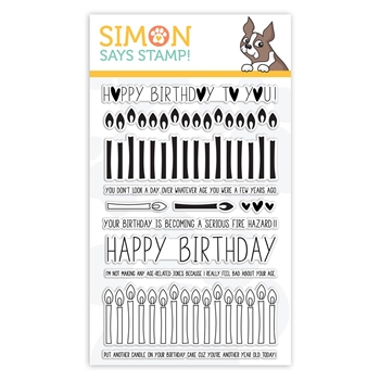 Simon Says Clear Stamps BIRTHDAY BORDERS sss101852