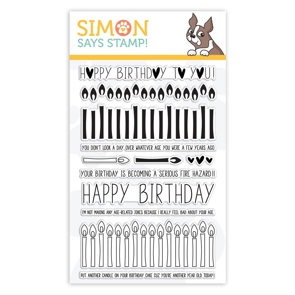 Simon Says Clear Stamps BIRTHDAY BORDERS sss101852 zoom image