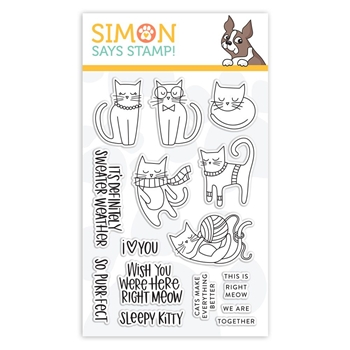 Simon Says Clear Stamps RIGHT MEOW sss101870 *