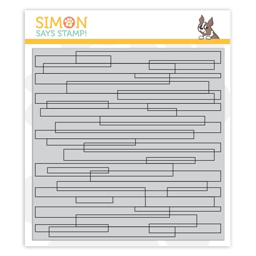 Simon Says Cling Rubber Stamp PLANK BACKGROUND sss101882 Preview Image