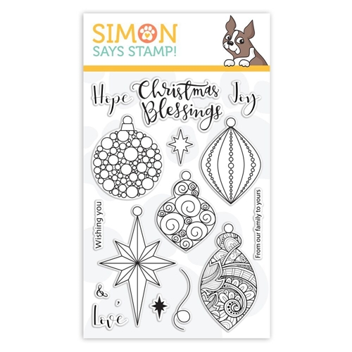 Simon Says Clear Stamps ORNATE ORNAMENTS sss101878 Preview Image